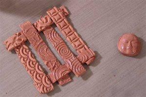art clay copper pendant