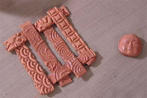 art clay copper pendant