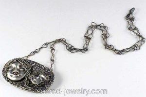 The Dream Silver Pendant with Chain