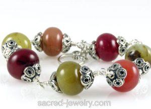 Jade Bracelet by Sacred Jewelry & Yoga Designs