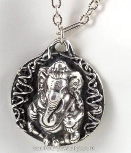 Magic Ganesha Pendant by Sacred Jewelry & Yoga Designs
