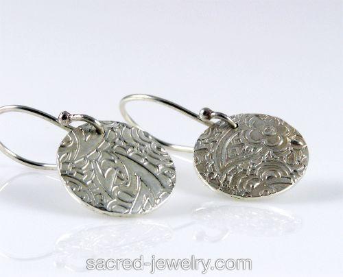 Mini Gypsy Earrings by Sacred Jewelry & Yoga Designs