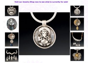 Sacred Jewelry & Yoga Designs Home Page shot