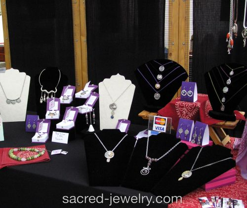 Sacred Jewelry & Yoga Designs at Asheville Art in the Park
