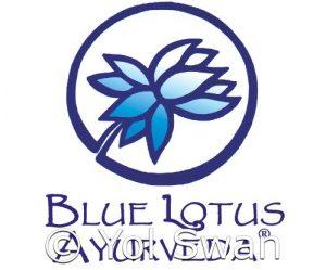 Blue Lotus Ayurveda Logo by Yol Swan