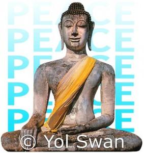 Peace Buddha by Yol Swan