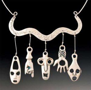 Fear No Evil Necklace by Yol Swan