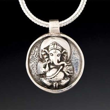 Ganesha Amulet by Yol Swan