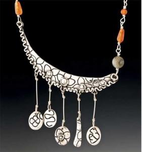 Gypsy Moon Necklace by Yol Swan