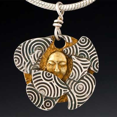 Inner Search Pendant by Yol Swan