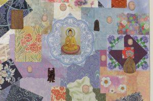 Buddhas 3d collage by Yol Swan