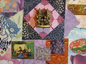 Laxmi Ganesha 3d collage by Yol Swan