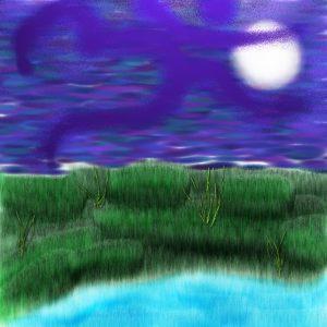 Om By the lake by Yol Swan