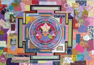 Sri Yantra Collage by Yol Swan