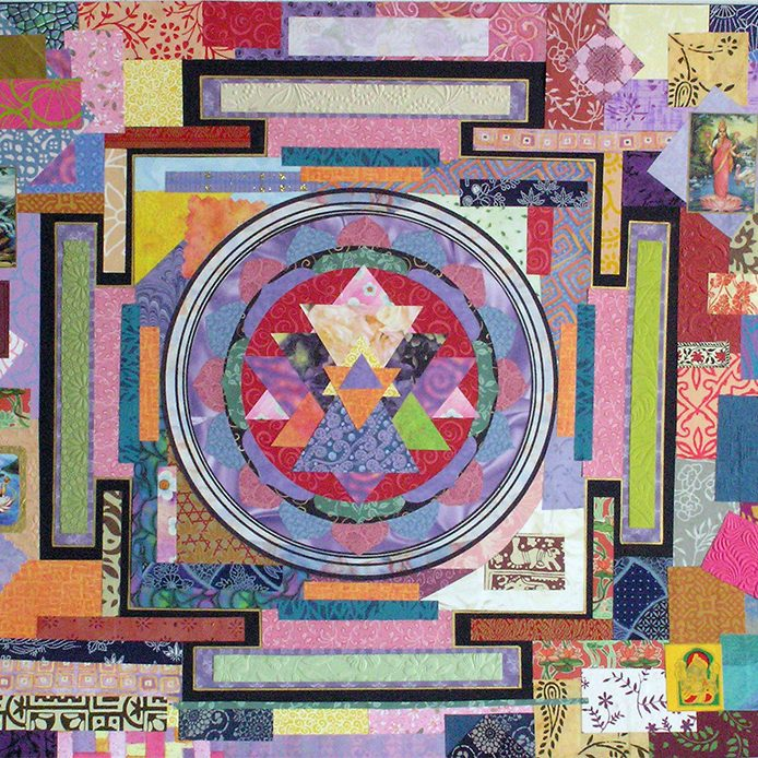 Sri Yantra Collage by Yol Swan