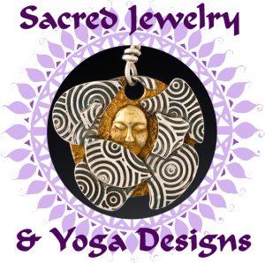 Sacred Jewelry & Yoga Designs logo